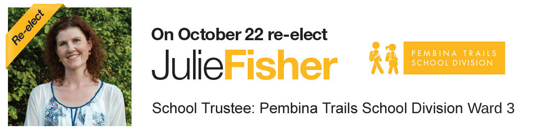Julie Fisher | Pembina Trails School Division, School Trustee